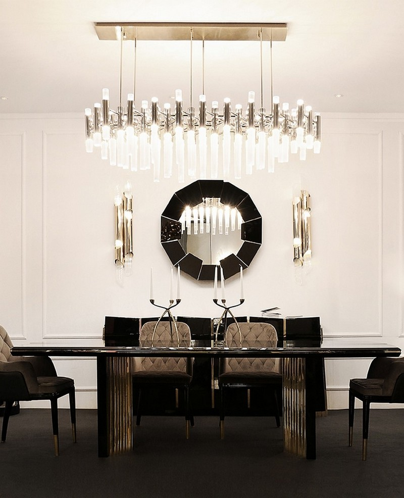 20 High End Modern Dining Tables For Stylish Homes regarding size 850 X 1048