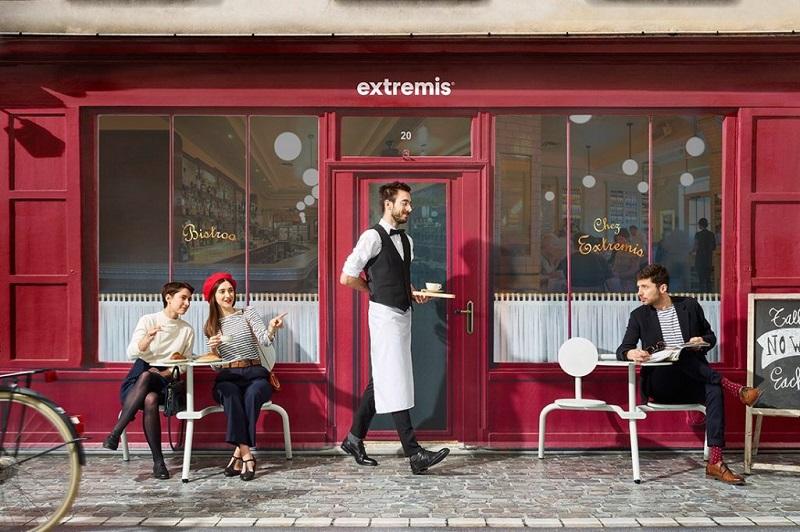 Extremis Welcomed All To A Parisian Bistro At Salone del Mobile 2018 ➤ #covetedmagazine #luxurymagazine #luxuryliving #interiordesign #homedecor #milandesignweek2018 #salonedelmobile2018 #isaloni2018 ➤ www.covetedition.com ➤ @covetedmagazine @bocadolobo @delightfulll @brabbu @essentialhomeeu @circudesign @mvalentinabath @luxxu @covethouse_ @rug_society @pullcast_jewelryhardware @bybrabbucontract salone del mobile 2018 Extremis Welcomed All To A Parisian Bistro At Salone del Mobile 2018 Extremis Welcomed All To A Parisian Bistro At Salone del Mobile 2018 1
