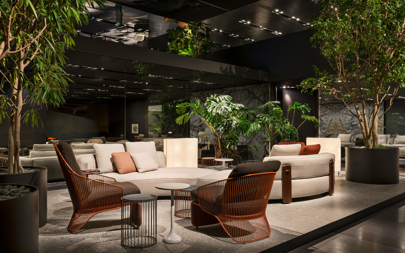 The Soul of the Project #1 by Minotti Starring the Collette Armchair (2)