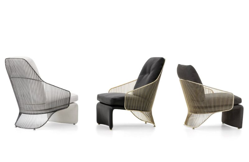 The Soul of the Project #1 by Minotti Starring the Collette Armchair (4)