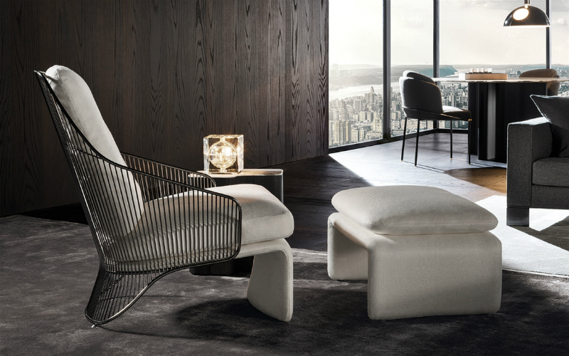 The Soul of the Project #1 by Minotti Starring the Collette Armchair (5)