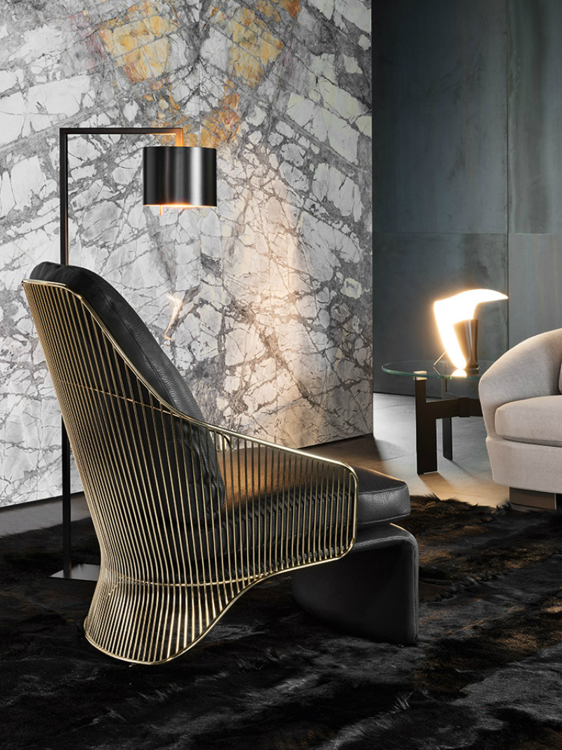 The Soul of the Project #1 by Minotti Starring the Collette Armchair (6)