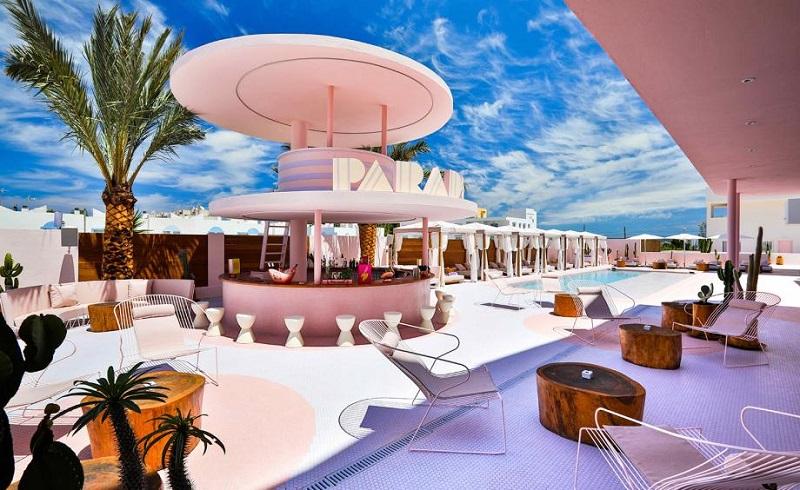 A Colorful Interior Design At Paradiso Ibiza Art Hotel Ibiza, Spain ➤ #covetedmagazine #luxurymagazine #luxuryliving #interiordesign #homedecor #milandesignweek2019 #salonedelmobile2019 #isaloni2019 #maisonetobjet ➤ www.covetedition.com ➤ @covetedmagazine @bocadolobo @delightfulll @brabbu @essentialhomeeu @circudesign @mvalentinabath @luxxu @covethouse_ @rug_society @pullcast_jewelryhardware @bybrabbucontract Colorful Interior Design A Colorful Interior Design At Paradiso Ibiza Art Hotel Ibiza, Spain A Colorful Interior Design At Paradiso Ibiza Art Hotel Ibiza Spain 1
