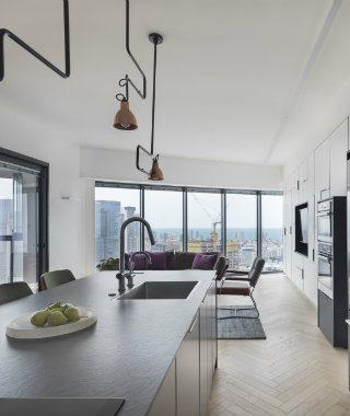 The Amazing Skyline Loft Project of Henkin Shavit Studios