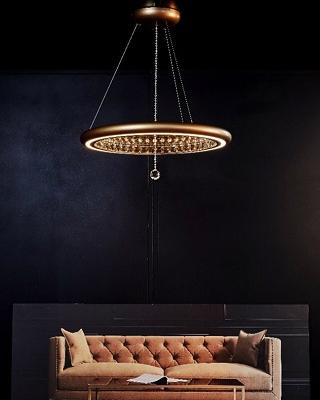 Swarovski Lighting Reveals Luxury New Infinite Aura Collection ➤ #covetedmagazine #luxurymagazine #luxuryliving #interiordesign #homedecor #milandesignweek2019 #salonedelmobile2019 #isaloni2019 #maisonetobjet ➤ www.covetedition.com ➤ @covetedmagazine @bocadolobo @delightfulll @brabbu @essentialhomeeu @circudesign @mvalentinabath @luxxu @covethouse_ @rug_society @pullcast_jewelryhardware @bybrabbucontract