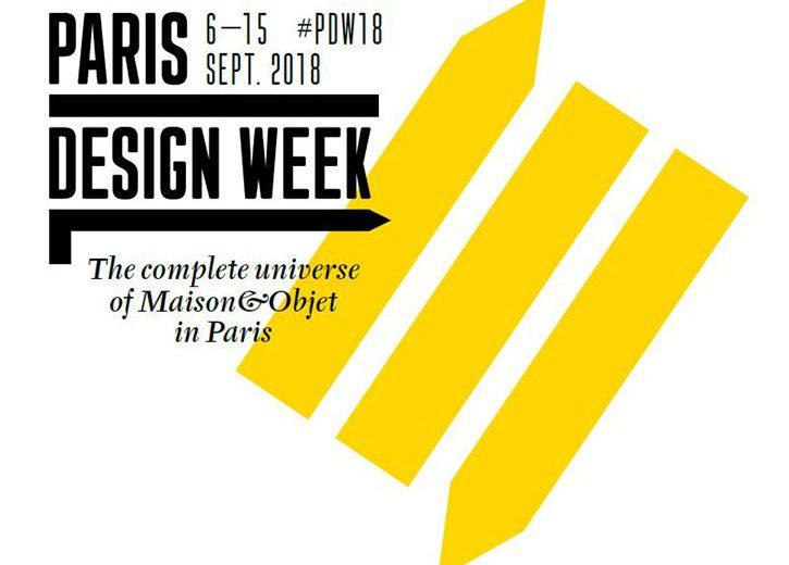 The Paris Design Week & Maison et Objet 2018