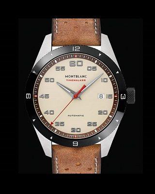 """cappuccino"" timewalker watches Luxury Brand Montblanc Has Two New ""Cappuccino"" Timewalker Watches Luxury Brand Montblanc Has Two New Cappuccino Timewalker Watches 2 1 320x400"