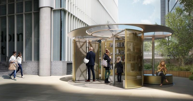 Snøhetta Set to Design Book Pavillion for London Design Festival 2018 5