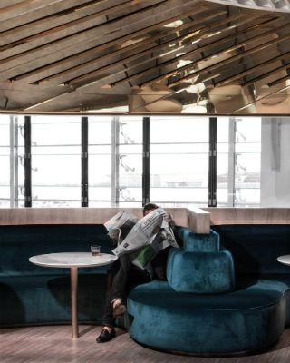 See The New Air France Lounge Space Designed By Mathieu Lehanneur
