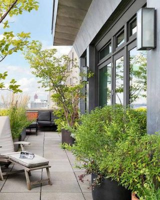 tribeca penthouse Meryl Streep's Listed Her Stunning Tribeca Penthouse for $25 Million featured 23 320x400