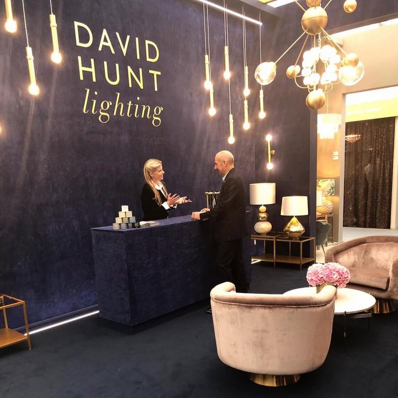 Regard David Hunt Lighting's Bespoke Designs at Decorex International 1