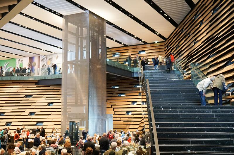 Kengo Kuma's Incredible V&A Dundee Design Museum