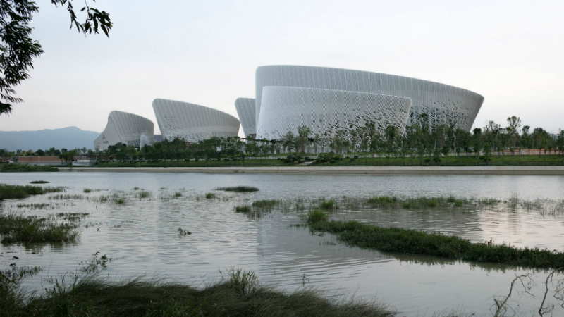 PES Architects Reveal Contemporary Culture and Art Centre in China