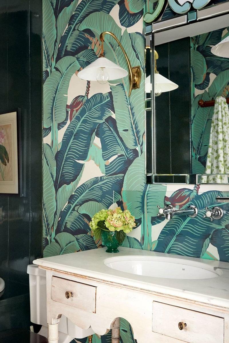 Revamp Your Luxury Bathroom Decor With Unique Wallpapers ➤ #covetedmagazine #interiordesign #homedecor #luxuryinteriors #luxurybathroomdecor #luxurybathroom ➤ www.covetedition.com ➤ @covetedmagazine @bocadolobo @delightfulll @brabbu @essentialhomeeu @circudesign @mvalentinabath @luxxu @covethouse_ @rug_society @pullcast_jewelryhardware @bybrabbucontract Luxury Bathroom Decor Revamp Your Luxury Bathroom Decor With Unique Wallpapers Revamp Your Luxury Bathroom Decor With Unique Wallpapers 13