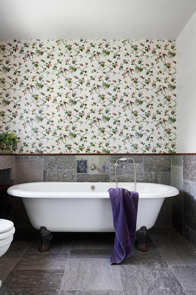 Revamp Your Luxury Bathroom Decor With Unique Wallpapers ➤ #covetedmagazine #interiordesign #homedecor #luxuryinteriors #luxurybathroomdecor #luxurybathroom ➤ www.covetedition.com ➤ @covetedmagazine @bocadolobo @delightfulll @brabbu @essentialhomeeu @circudesign @mvalentinabath @luxxu @covethouse_ @rug_society @pullcast_jewelryhardware @bybrabbucontract Luxury Bathroom Decor Revamp Your Luxury Bathroom Decor With Unique Wallpapers Revamp Your Luxury Bathroom Decor With Unique Wallpapers 6