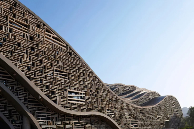 The New Amazing Hall in China Wants to Become One With Nature amazing hall The New Amazing Hall in China Wants to Become One With Nature The New Amazing Hall in China Wants to Become One With Nature 4
