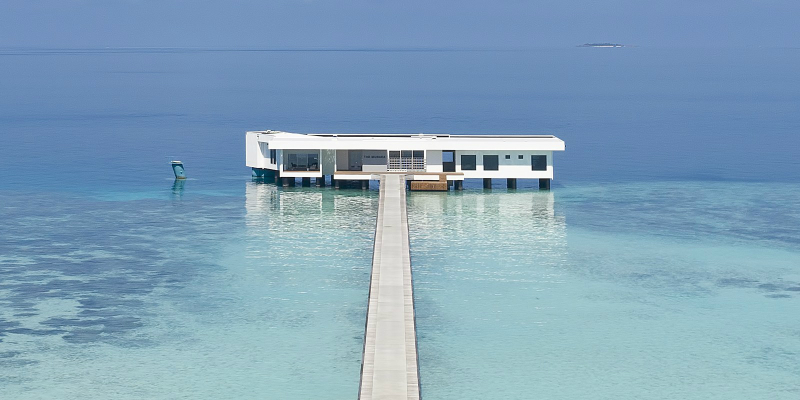 The World's First Underwater Hotel Villa Has Opened in the Maldives