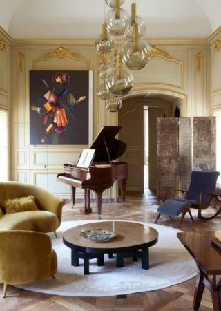 A 16th-Century French Château Updated With A Mid-Century Twist