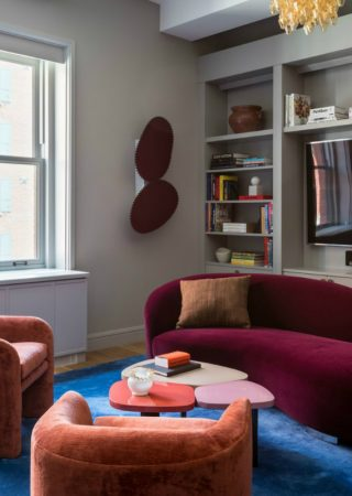 A Colourful Use of Velvet In A Young Family Home by Ashe+Leandro