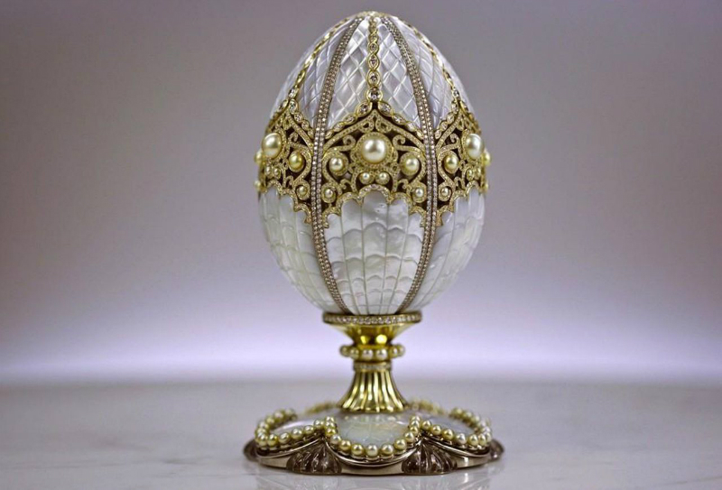 Fabergé And Rolls-Royce Collaborate To Launch 'Spirit Of Ecstasy' Egg