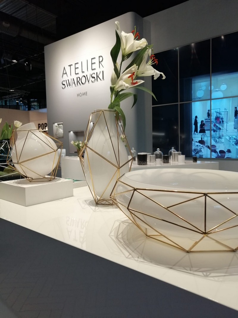 Atelier Swarovski Presents Latest Collection At Maison et Objet 2019