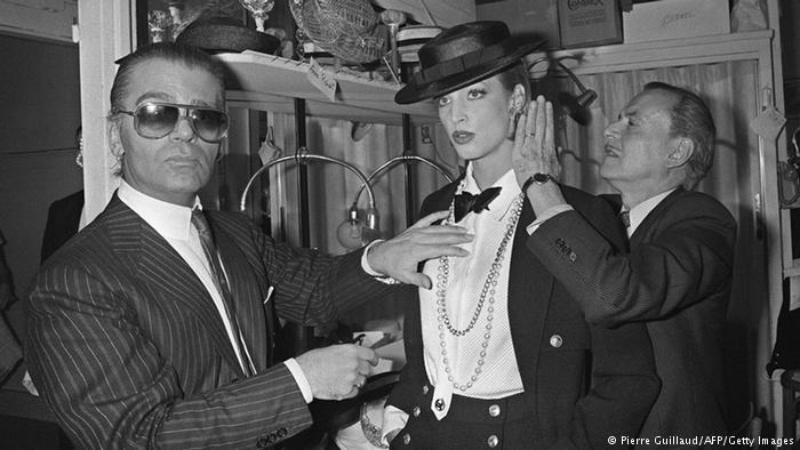 5.The Iconic Fashion Designer, Karl Lagerfeld, Dies, Age 85