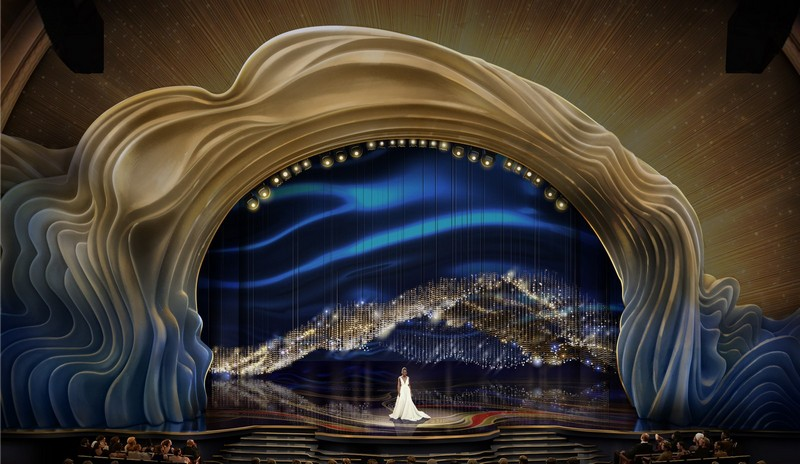 Recalling the Magnificent Set Design of the Oscars 2019 1