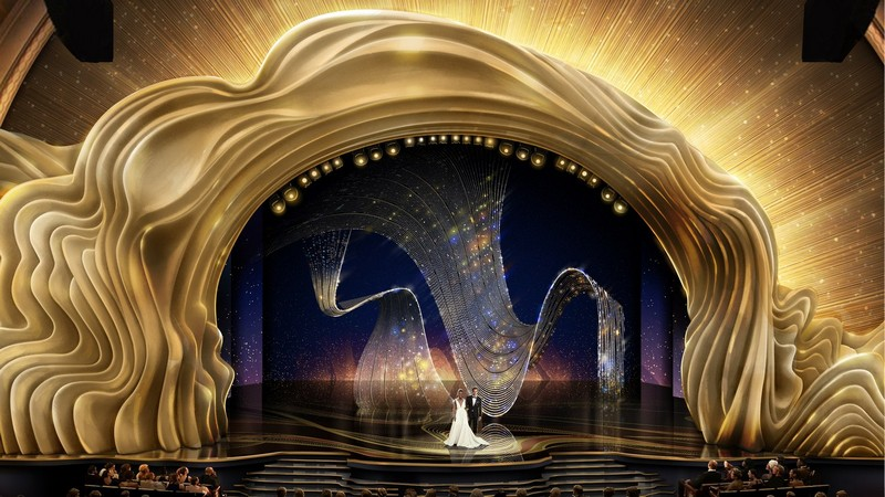 Recalling the Magnificent Set Design of the Oscars 2019 3
