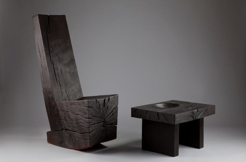 Woodworking masterpieces by Jim Partridge and Liz Walmsley