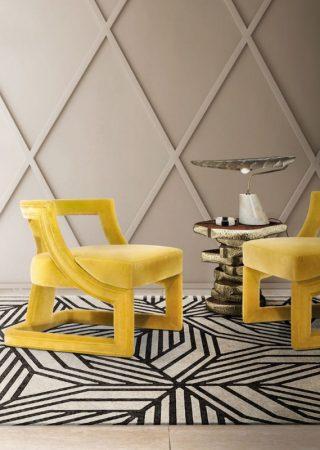 Mellow yellow chair from Brabbu