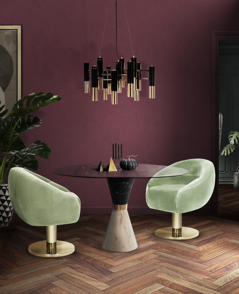 Colour trends 7 hues that will inspire you in 2019 - Dining room trends 2019 ...