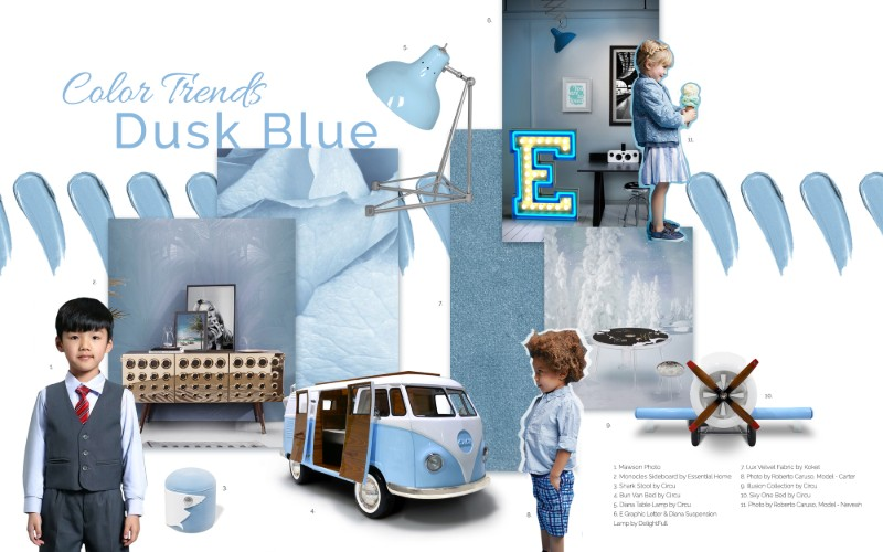 Dusk Blue Is The Spring Summer Colour Trend For 2020