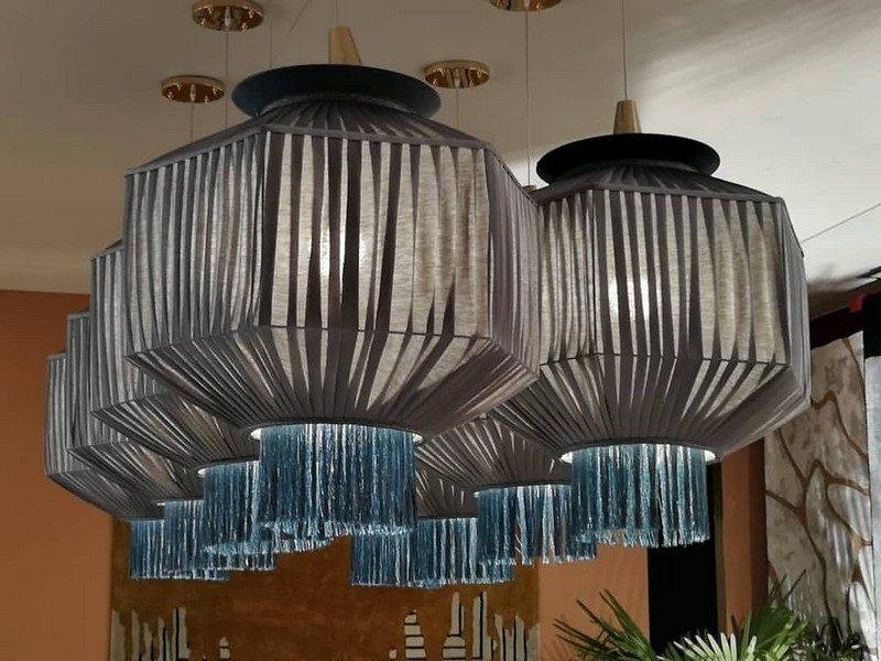 Fringing And Velvet Interior Design Inspirations: Alice Suspension Lamp