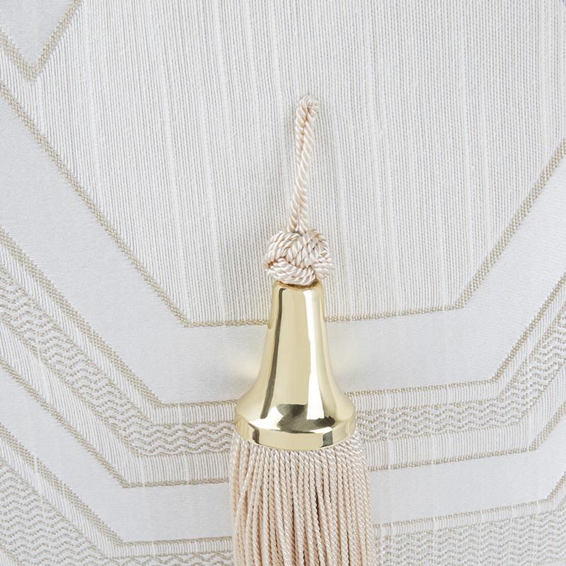 Fringing And Velvet Interior Design Inspirations: Kleo Cushion