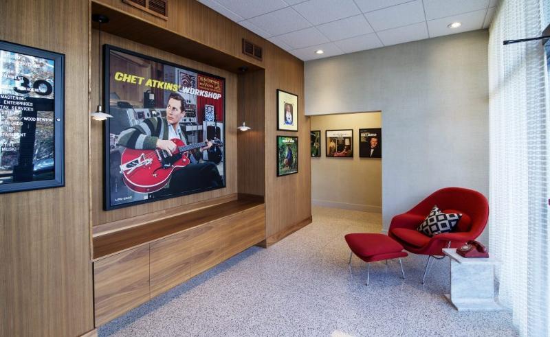 RCA Studio A Retro Inspired Renovation by Anderson Design Studio