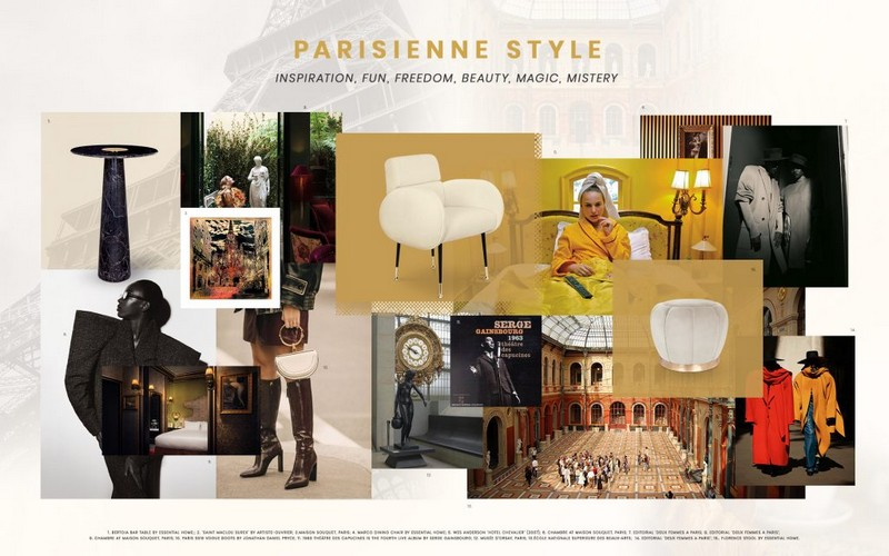 Interior Design Trends 2019: Be Inspired by The Parisienne Style