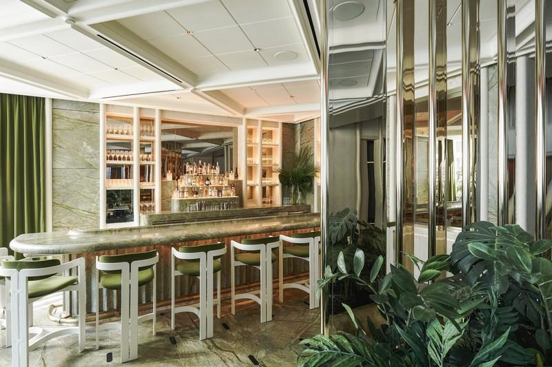 Inside Le Jardinier, a Vegetarian Restaurant by Joseph Dirand