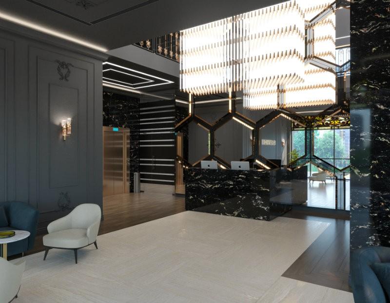 Let's have a little tour through Svetlana Pozdnyakova's Business Center