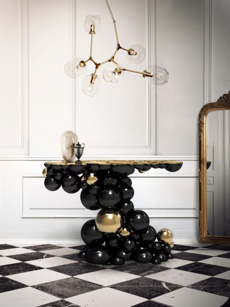 Give an Edge to your Living Room Decor with Black Furniture