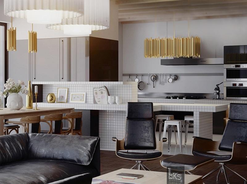 5 Unique Lamps To Bring a New Shine Into Your Kitchen Interior Decor4