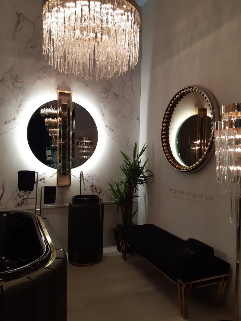 Luxury bathrooms inspirations spotted at Feria Habitat Valencia 2019 2