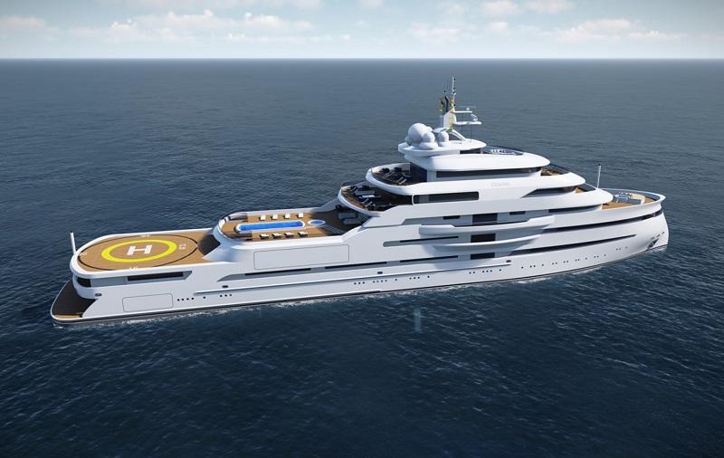 4 Impressive Superyacht Projects From Gresham Yacht Design 3
