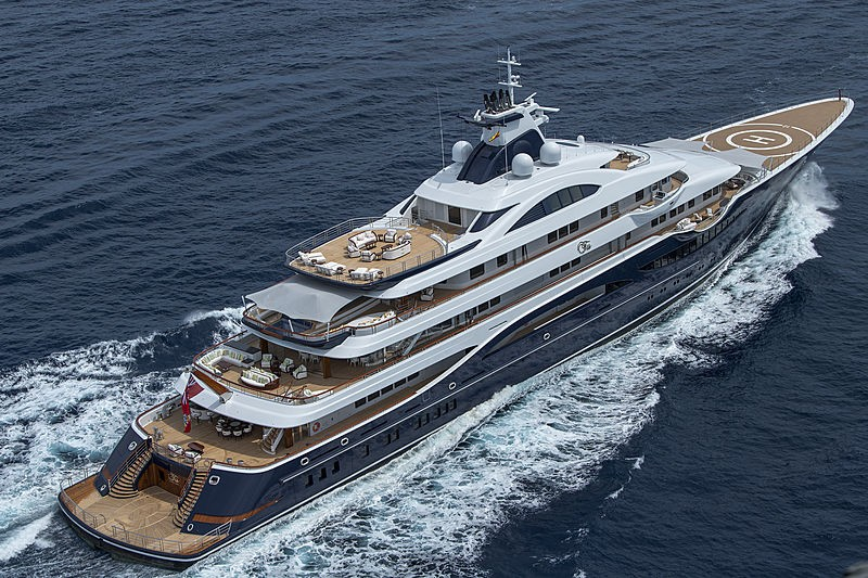 Discover three of the latest luxury yachts by Winch Design