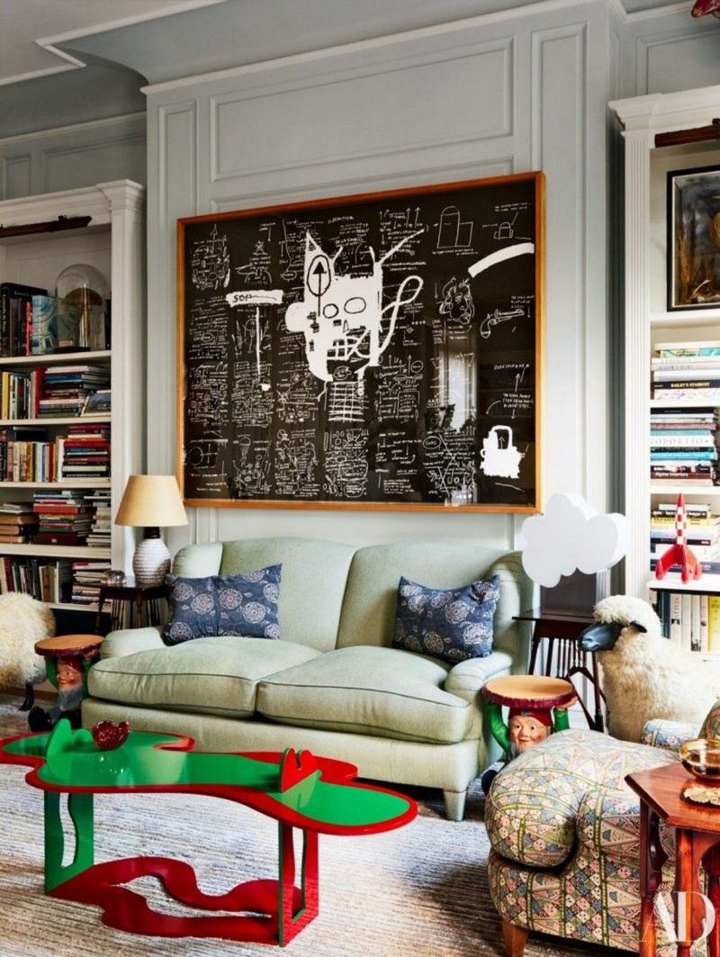 Have a look at Jacques Grange's London Townhouse Project