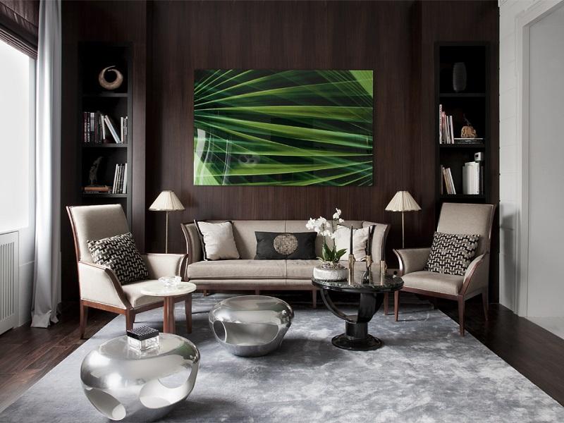 Inspiring Luxury Design Apartment by Marina Filippova 5