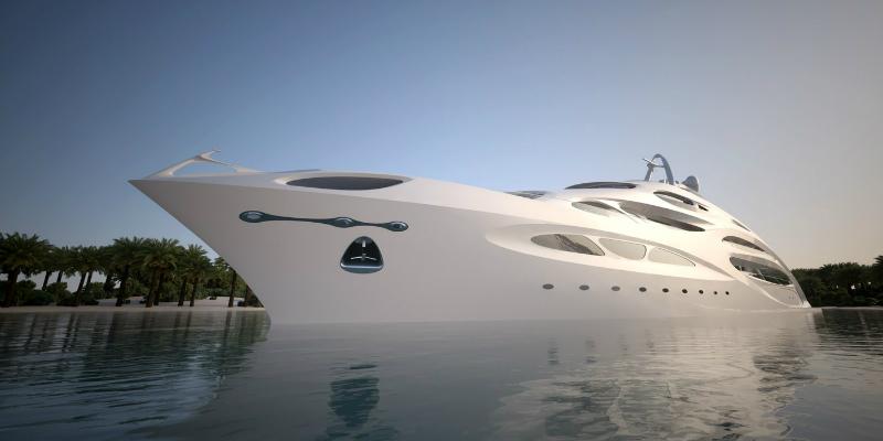 Zaha Hadid Designs An Impressive Superyacht 2