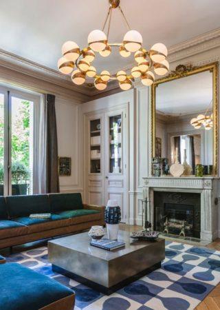 A tour into an Incredible Luxury apartment by Gérard Faivre
