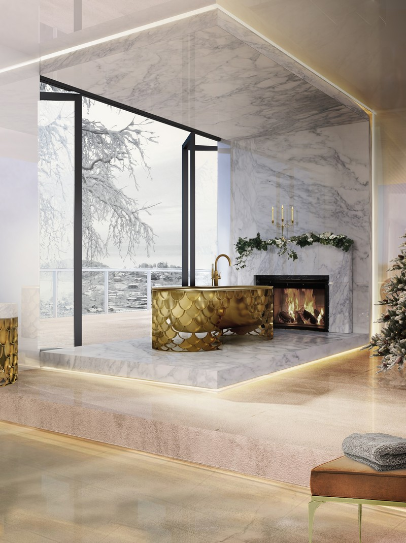 Add a Holiday Touch to Your Luxury Bathroom With These Design Inspirations
