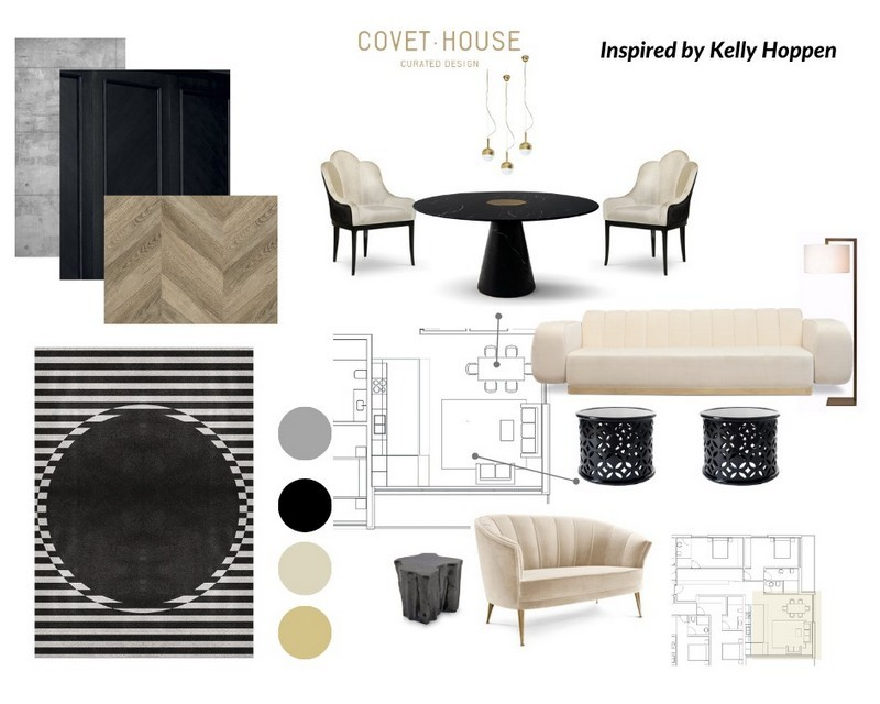 Exquisite Moodboards Inspired by Best Interior Designers Kelly Hoppen