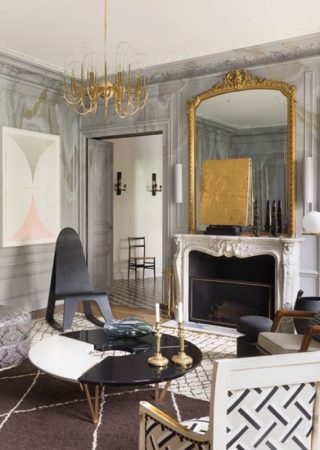 Jean-Louis Deniot made Antique and Modern meet in this project